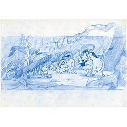 Original production drawing from The Lion King