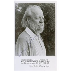 a report on the life and works of william gerald golding The novels of william golding, reprinted in william goldings lord of the flies: a source book, ed william nelson (new york, 1963), p 108—a collection of essays which i shall refer to hereafter as a source book.