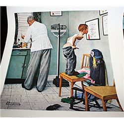 Norman Rockwell Limited Edition Limited Edition - At The Doctor's Office