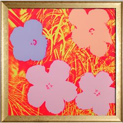 Andy Warhol, Flowers II.69, Sunday B. Morning Screenprint