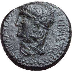 Claudio (41-54). AE 21mm. Thessalonica, Macedonia.