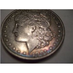 1901 Morgan Silver Dollar, VF30