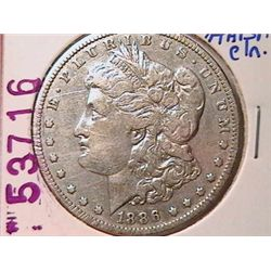 1886-O Morgan Dollar F12