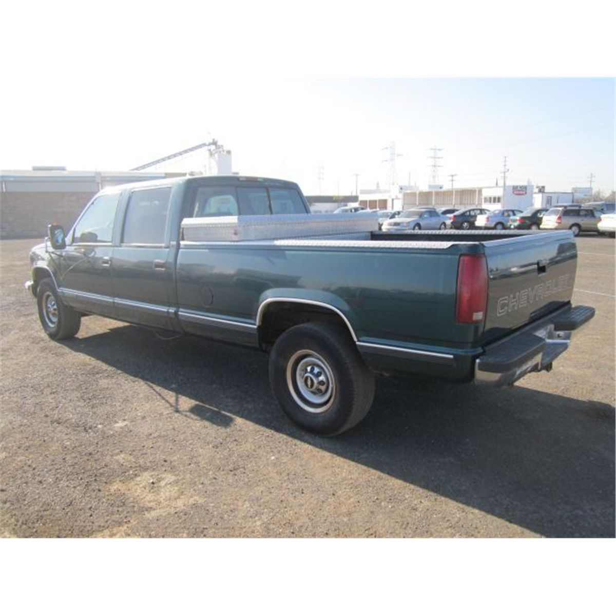 1997 Chevrolet 3500 Extended Cab Transmission: 1997 Chevrolet 3500 Cheyenne Crew Cab Pickup Truck