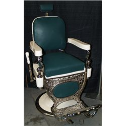 "Restored ""Koch"" Barber Chair"