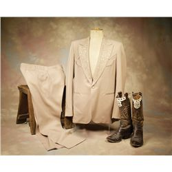 Montie Montana's Suit and Boots