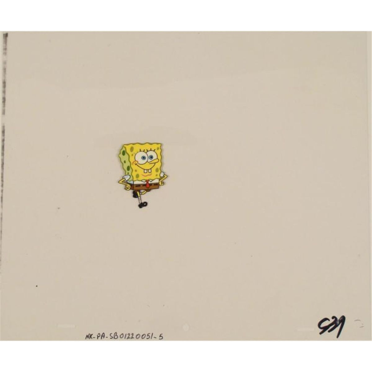 original like a boss spongebob art cel production
