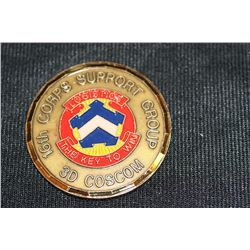 16th Corps Support Group Commemorative Medal