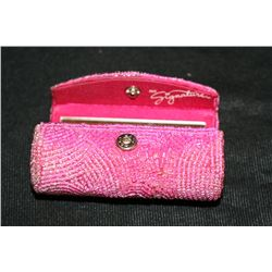Mary Kay Pink Beaded Lipstick Case