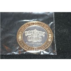 Limited Edition Gold Strike Casino 10 Dollar Gaming Token