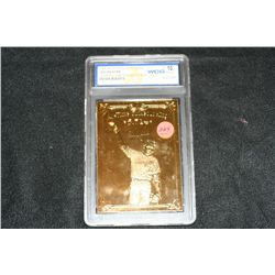 1996 Bleachers 23kt Gold Nolan Ryan WGC Graded 10 GEM-MT