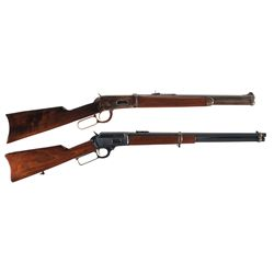 Two Lever Action Long Guns -A) Winchester Model 1894 Lever Action Rifle