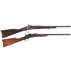 Two Antique Carbines -A) Peabody Carbine