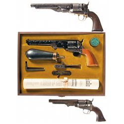 Three Percussion Revolvers -A) Black Powder Series U.S. Colt Model 1860 Army Percussion Revolver