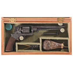 Cased Starr Arms Model 1863 Single Action Army Revolver