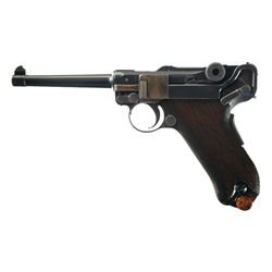 DWM Model 1906 Royal Portuguese Army M2 Luger Semi Automatic Pistol