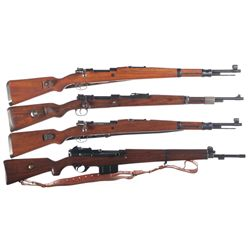 Four Military Rifles -A) Yugoslavian M48 Bolt Action Rifle