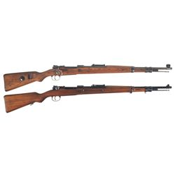Two Model 98 Bolt Action Rifles -A) German Model 98 Bolt Action Rifle