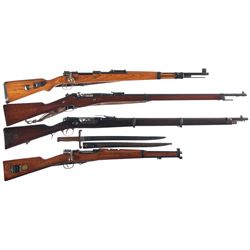 Four Bolt Action Longarms -A) Mauser  byf/42  Model 98 Bolt Action Rifle