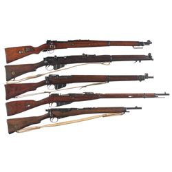 Five Military Bolt Action Longarms -A) Erfurt Arsenal Kar 98 Bolt Action Rifle