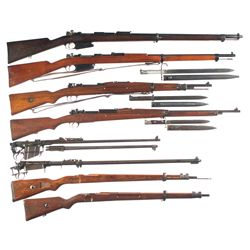 Six Bolt Action Military Rifles -A) Rare FN Mauser Model 1889/36 Bolt Action Rifle