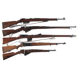Five Bolt Action European Military Rifles -A) Hungarian Model 35M Bolt Action Rifle