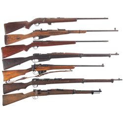 Seven Bolt Action Long Guns -A) Western Field Model M830 Bolt Action Rifle