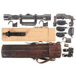 WWII Style Scope and Accessories