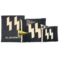 Nazi Style SS Flags and Pennants