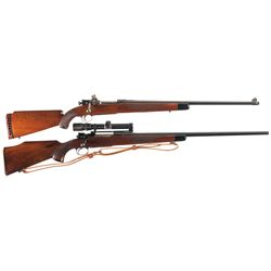 Two Bolt Action Rifles -A) Custom Springfield Armory Model 1903 Bolt Action Rifle