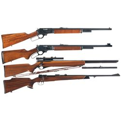 Four Long Guns -A) Marlin Model 1895SS Lever Action Rifle