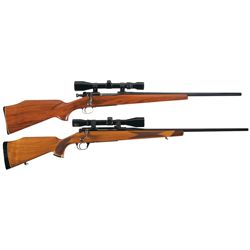 Two Scoped Bolt Action Rifles -A) Custom U.S. Springfield Model 1903 Bolt Action Rifle