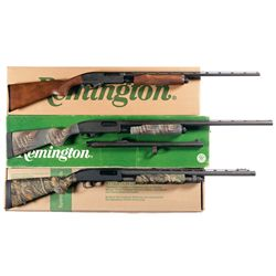 Three Boxed Shotguns -A) Remington Model 870 Express Slide Action .410 Shotgun