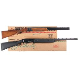 Two Boxed Shotguns -A) Engraved Miroku Over/Under Shotgun