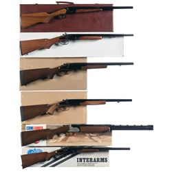 Six Shotguns -A) KBI Side by Side Shotgun with Case