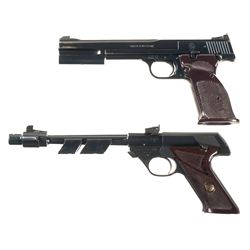 Two Semi-Automatic Target Pistols -A) Smith & Wesson Model 46 Semi-Automatic Pistol