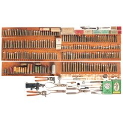 Bullet Molds, Reloading Tools, Ammunition, and Related Items
