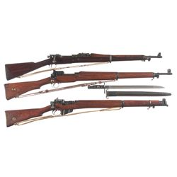 Three Military Bolt Action Rifles -A) U.S. Springfield Model 1903 Bolt Action Rifle