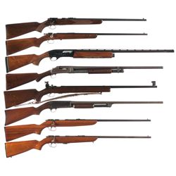 Eight Longarms -A) Winchester Model 69A Bolt Action Rifle