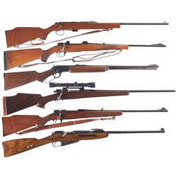 Six Rifles -A) Remington Model 591M Bolt Action Rifle