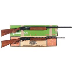 Two Boxed Remington Shotguns -A) Remington Model 1100 SA Semi-Automatic Shotgun