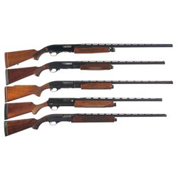 Five Repeating Shotguns -A) Winchester Model 1200 Slide Action Shotgun