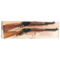 Two Boxed Marlin Lever Action Carbines -A) Marlin Model 1895G Lever Action Carbine
