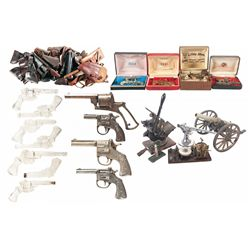 Revolver Frame, Signal Cannon, Holsters and Miscellaneous Item