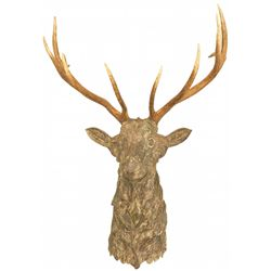 Faux Elk Head