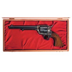 Colt Single Action Army with Wood Case and Factory Letter