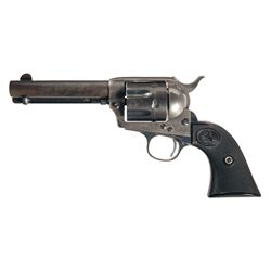 Colt Single Action Army Frontier Six Shooter Revolver with Factory Letter