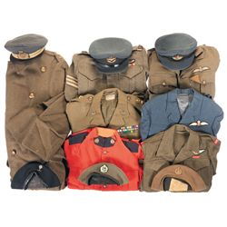 Grouping of Commonwealth Military Uniform Items