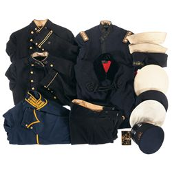 Grouping of U.S. Uniforms
