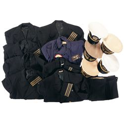 Grouping of U.S. Navy Uniforms